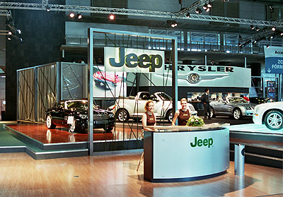 Chrysler Jeep Salon del Automovil de Madrid 2004